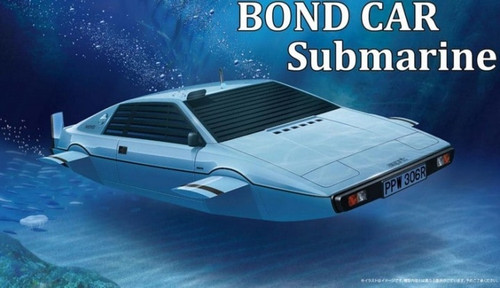 Fujimi 09192 - 1/24 Lotus Car Submarine from 1977 James Bond Movie The Spy Who Loved Me