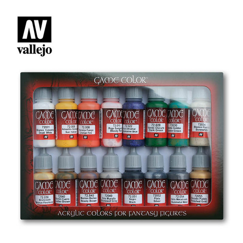 Vallejo 72299 - Game Color 16 Colors Introduction Set