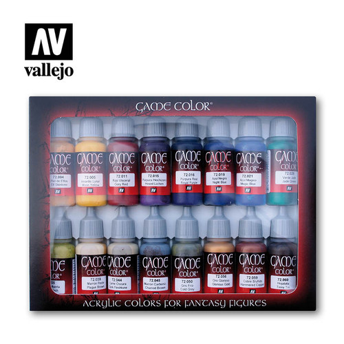Vallejo 72298 - Game Color 16 Colors Advanced Set