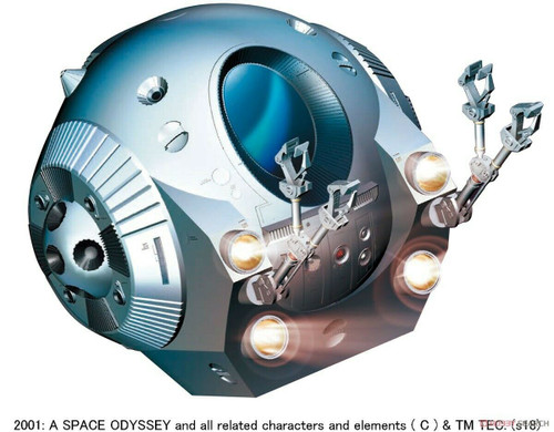Moebius MMK2001-4 - 1/8 EVA Pod from 2001: A Space Odyssey