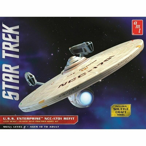 AMT1080 - 1/537 Star Trek USS Enterprise Refit