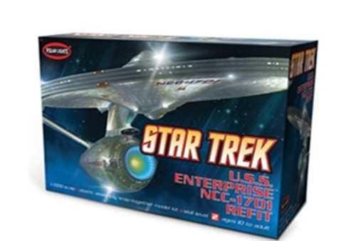 Polar Lights 820 - 1/1000 Star Trek USS Enterprise NCC-1701-A Refit