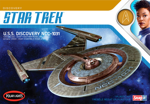 Polar Lights 961 - 1/2500 Star Trek USS Discovery NCC-1031