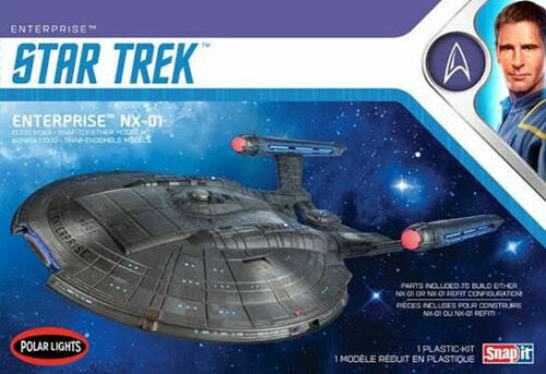Polar Lights 966 - 1/1000 Star Trek NX-01 Enterprise Snap Kit