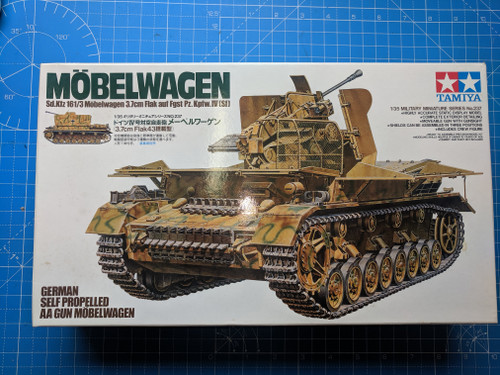 Tamiya 35237 - 1/35 Self Propelled Mobelwagen