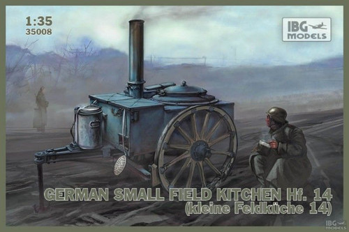 IBG Models #35008 - 1:35 German Small Field Kitchen Hf. 14 (kleine feldkuche 14)