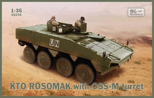 IBG Models #35034 - 1:35 KTO Rosomak with OSS-M turret