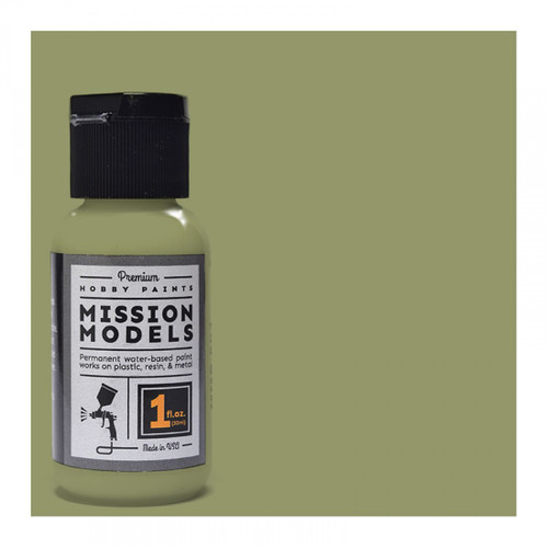Mission Models MMP021 -US Army Olive Drab Faded 2 1fl.oz bottle