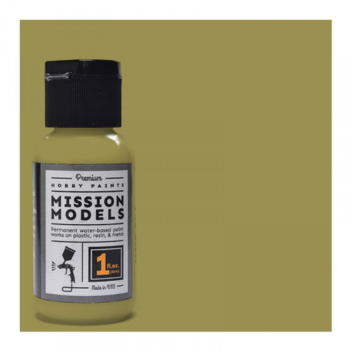 Mission Models MMP022 -US Army Olive Drab Faded 3 1fl.oz bottle