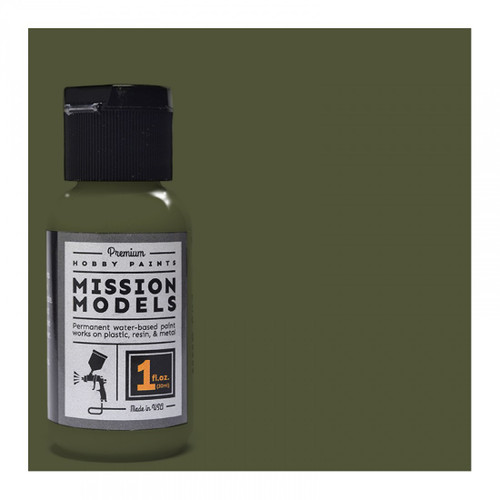 Mission Models MMP026 -US Army Olive Drab FS 33070 1fl.oz bottle