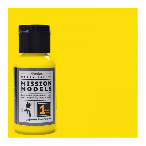 Mission Models MMP007 - YELLOW 1fl.oz bottle