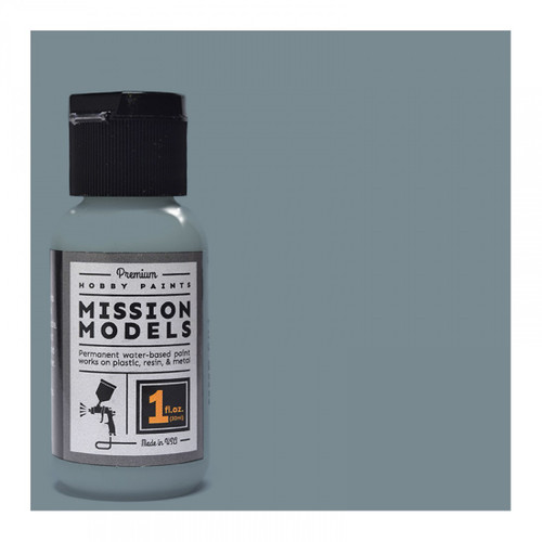 Mission Models MMP042 - British Light Silver Grey RAL 7001 1fl.oz bottle