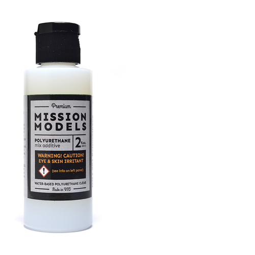 Mission Models MMA001 - Polyurethane Mix Additive 2oz bottle