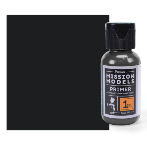 Mission Models MMS001 - Black Primer 1fl.oz bottle
