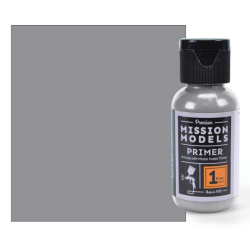 Mission Models MMS003 - Grey Primer 1fl.oz bottle