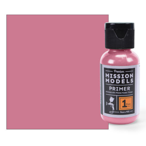 Mission Models MMS005 - Pink Primer ( use when spraying red ) 1fl.oz bottle