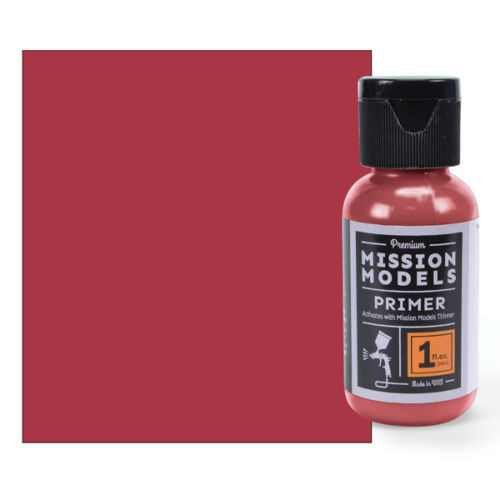 Mission Models MMS004 - Red Oxide Primer ( also Matches German WWII AFV Red Oxide ) 1fl.oz bottle