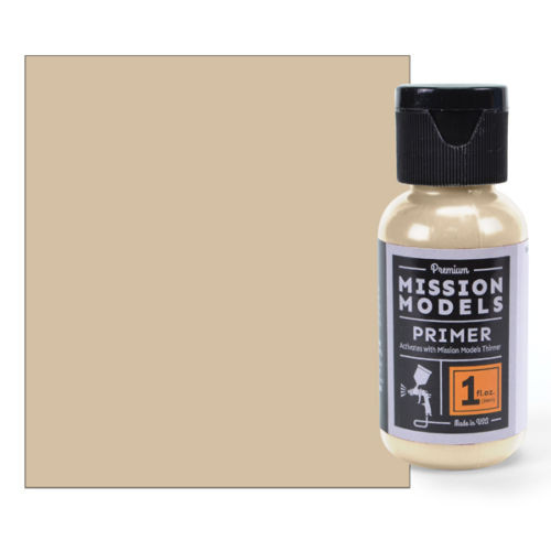 Mission Models MMS006 - Tan Primer 1fl.oz bottle