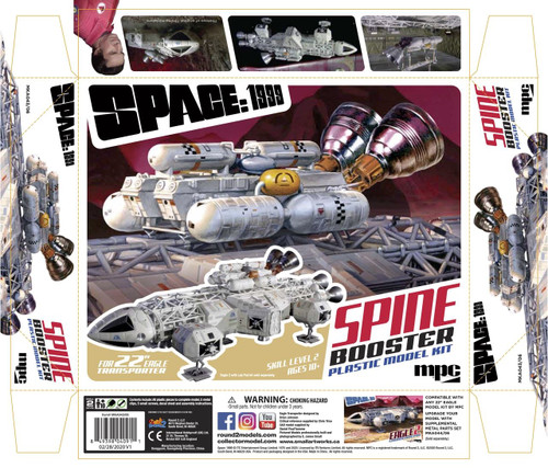 """MKA043 - 1/48 SPACE:1999 22"""" BOOSTER PACK ACCESSORY SET (For MPC923 and other 22"""
