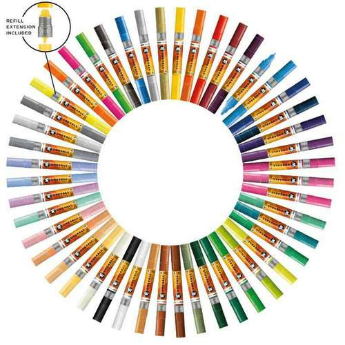 Molotow ONE4ALL ACRYLIC TWIN TIP 1.5 - 4 MM - Choice of Colours