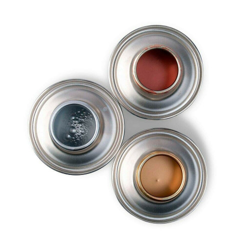 Set of 3 Montana Liquid 200ml Metallic Acrylic paint (Copper, Silver and Gold)