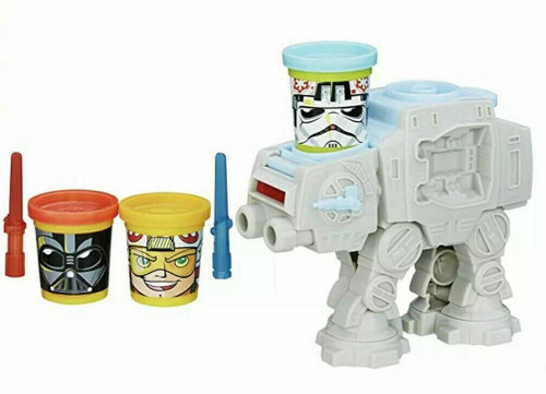 Brand New Play-Doh Star Wars AT-AT Attack with Can-Heads Hasbro Disney Gift Set