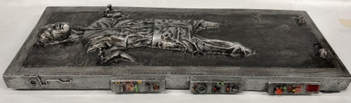 """Unknown Producer - 19"""" Han Solo in Carbonite resin cast"""
