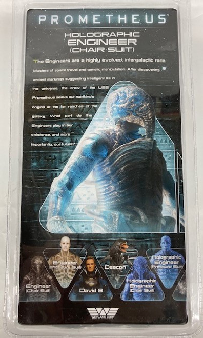 """NECA Holographic Engineer (Chair Suit) 7"""" Action Figure"""