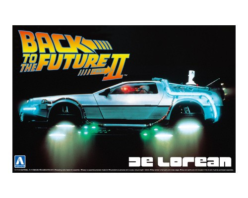 Aoshima 01186 - 1/24 BACK TO THE FUTURE DeLOREAN from PART II