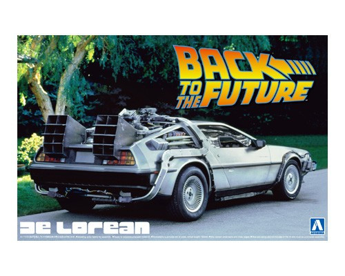 Aoshima 01185 - 1/24 BACK TO THE FUTURE DeLOREAN from PART I