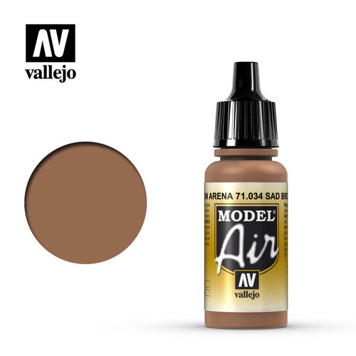 Vallejo Model Air 17ml - SAND BROWN