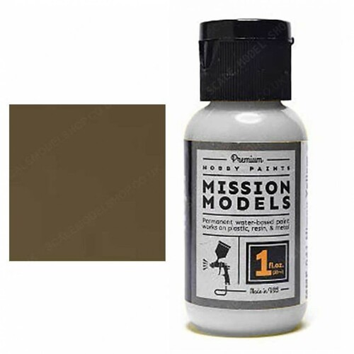 Mission Models MMP123 - Rail Tie Brown 1fl.oz bottle