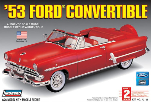 Lindberg 72195 - 1:25 '53 Ford Convertible