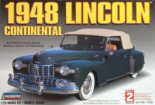 Lindberg 72322 - 1:25 1948 Lincoln Continental