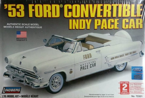 Lindberg 72321 - 1:25 '53 Ford Convertible Indy Pace Car