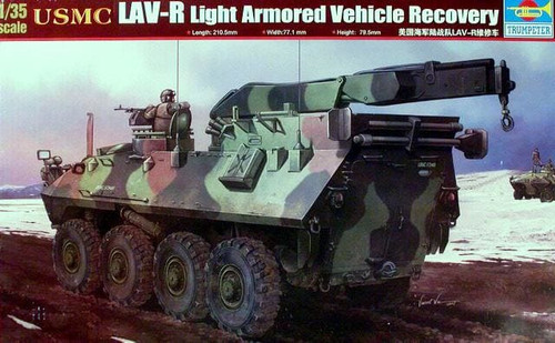 Trumpeter 00370 - 1:35 USMC LAV-R Light Armored Vehicle Recovery