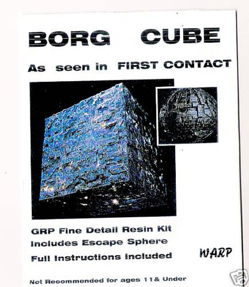 Warp Models Star Trek Borg Cube (As seen in First Contact)