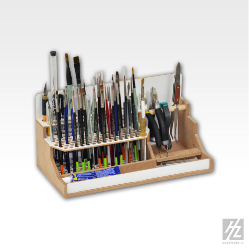 HobbyZone OM07a - Brushes and Tools Module - Modular Workshop System