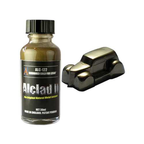 Alclad 2 ALC122 30ml Mirrored Gold for Lexan