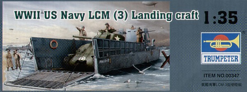 Trumpeter 00347 - 1:35 WWII US Navy LCM (3) Landing craft