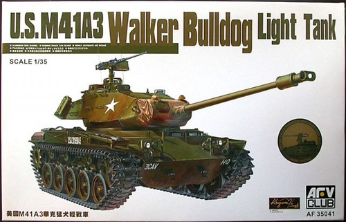 AFV Club AF35041 - 1:35 US M41A3 Walker Bulldog Light Tank