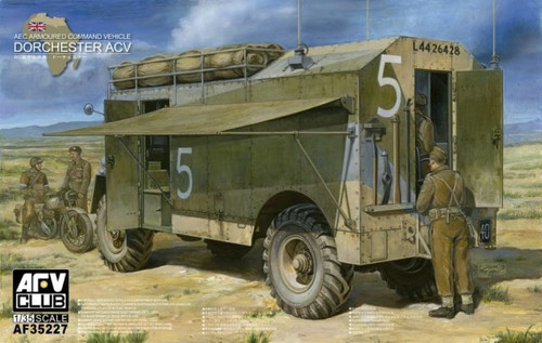 AFV Club AF35227 - 1:35 AEC Armoured Command Vehicle Dorchester ACV