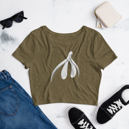 Women's Crop Tee (t-shirt)