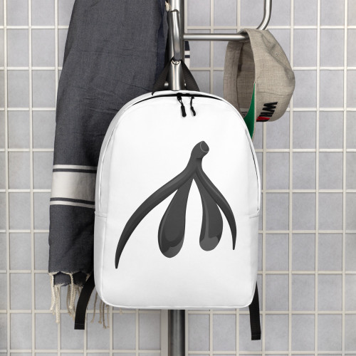 Clit Minimalist Backpack - large logo