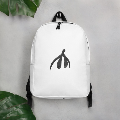 Clit Minimalist Backpack - small logo