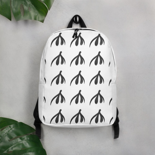 Clit Minimalist Backpack - patten logo