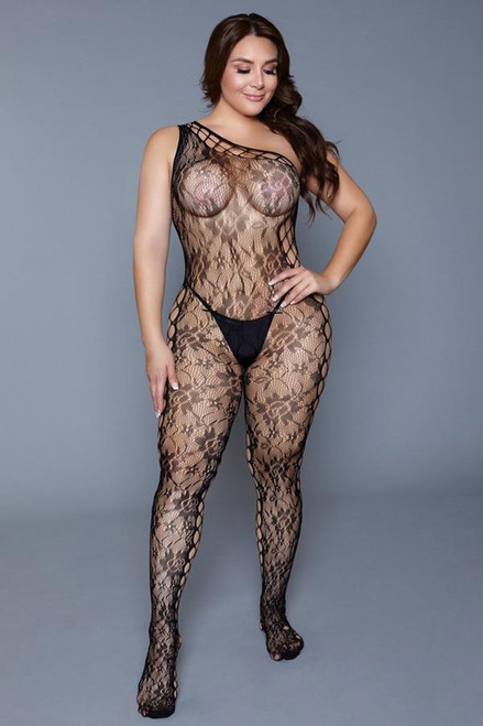 Keep up tonight Catsuit - plus size