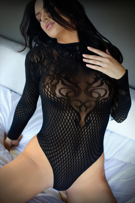 Wicked Game Long-Sleeved Bodysuit