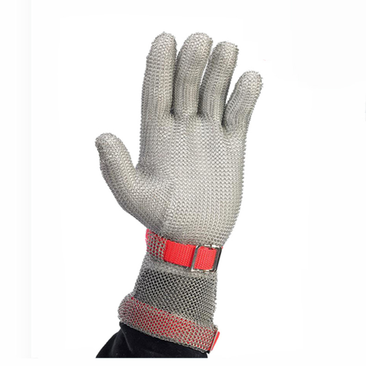 Extended Wrist Length Stainless Steel Safety Glove