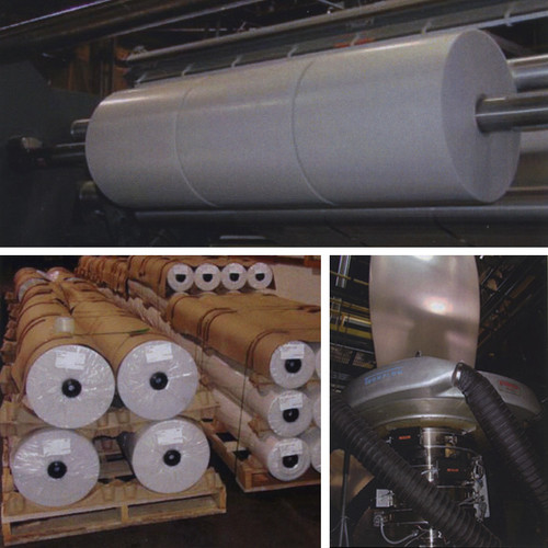 Clear Poly Sheeting on Rolls
